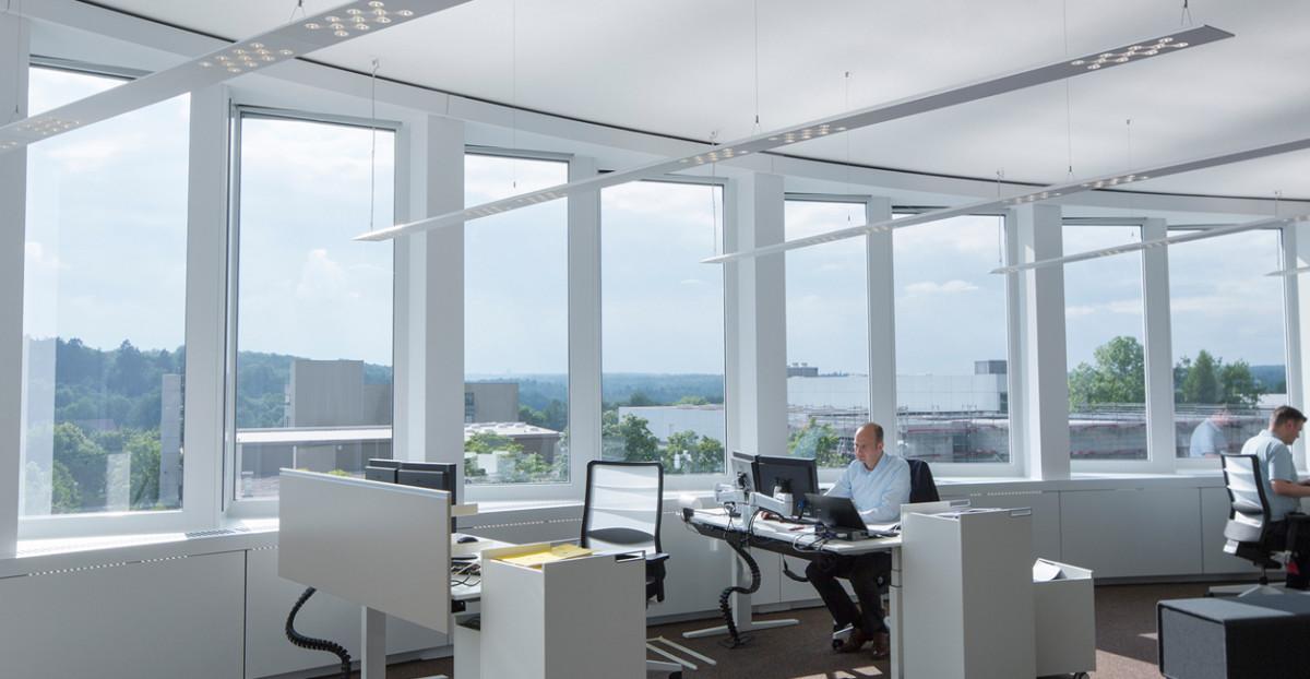 Das richtig Licht im Büro