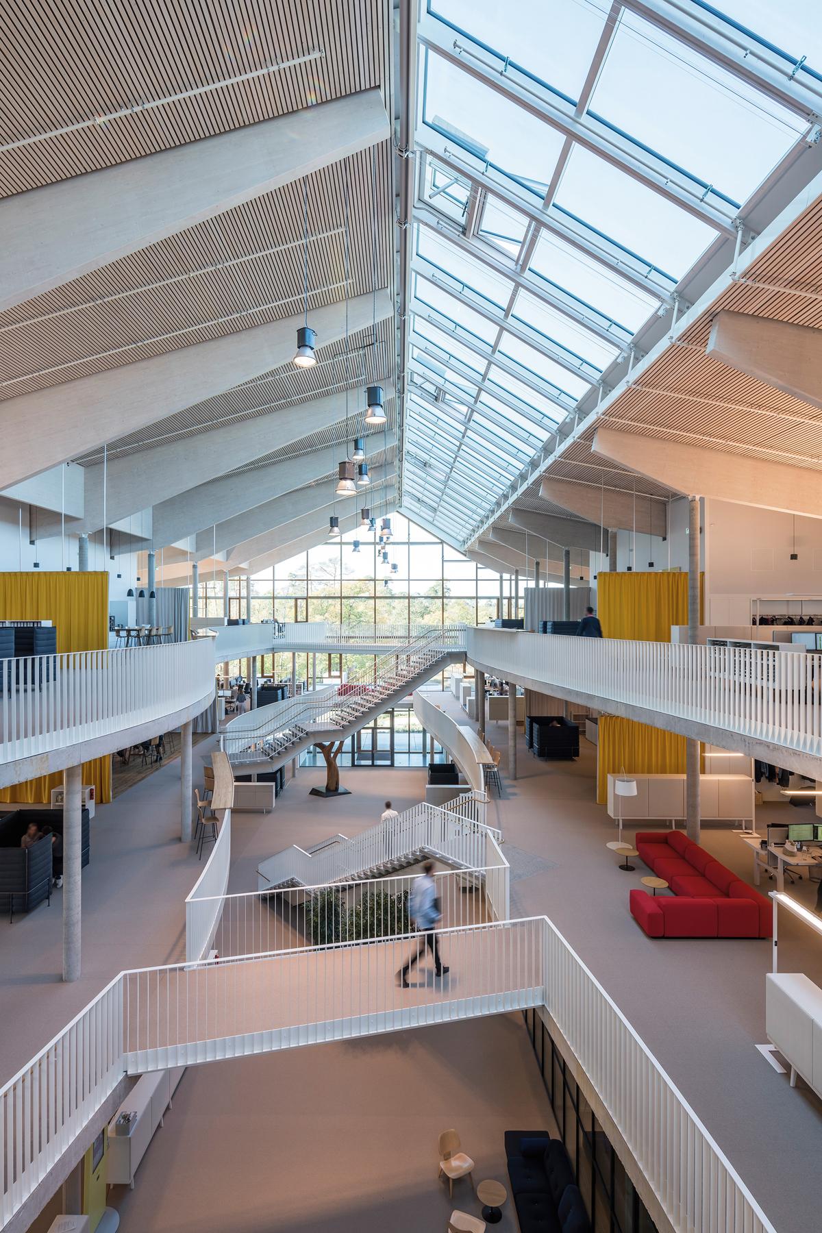 Treppenhaus Alnatura Firmenzentrale Darmstadt