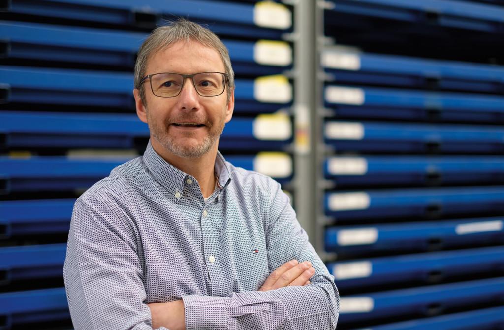 Portrait Ralf Donell, Geschäftsführer der S&D Blechtechnologie