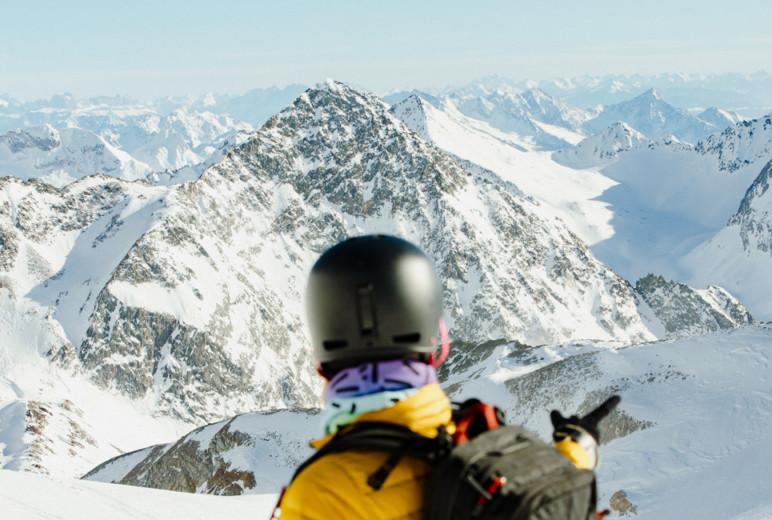 Landschaftsaufnahme vom Stubaier Gletscher