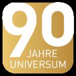 Jubliäumslogo Universum Verlag