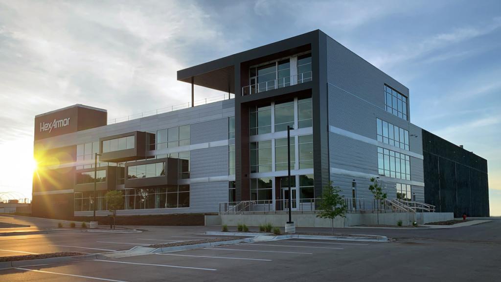 HexArmor Firmengebäude