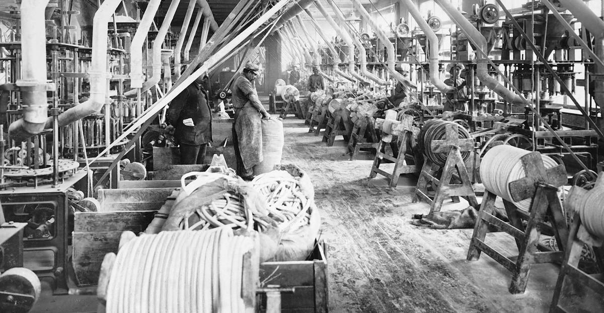 Damal: Spinenn bis zum Tod: Verarbeitung von Asbest