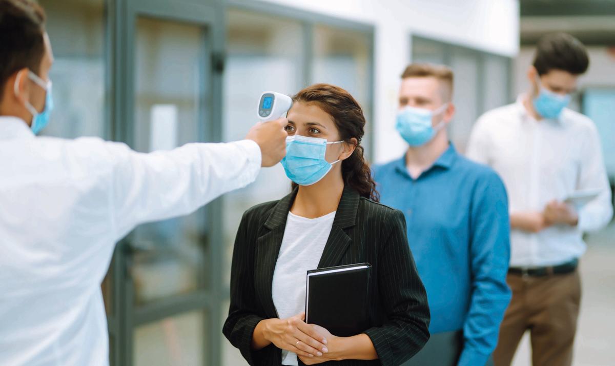 Eine(r) für alle: Infektionsschutz durch Fiebermessen im Betrieb