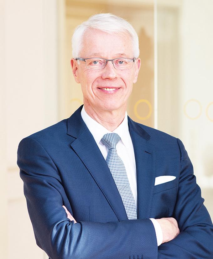 Portraitfoto Dr. Klaus Große Vorstand Ressort Gesundheit, VDSI.