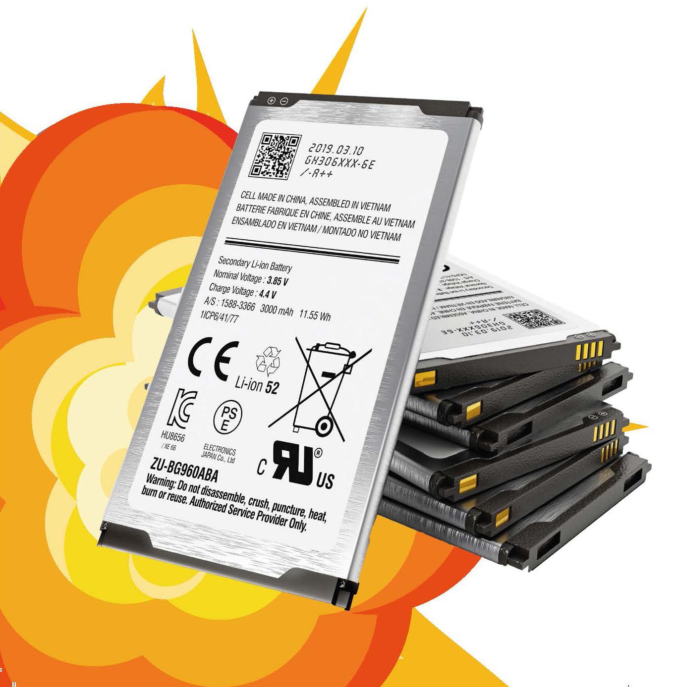 Gefährliche Energiespeicher: Handy-Akkus